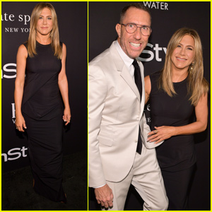 Jennifer Aniston Supports Hairstylist of the Year Chris McMillan at InStyle Awards!