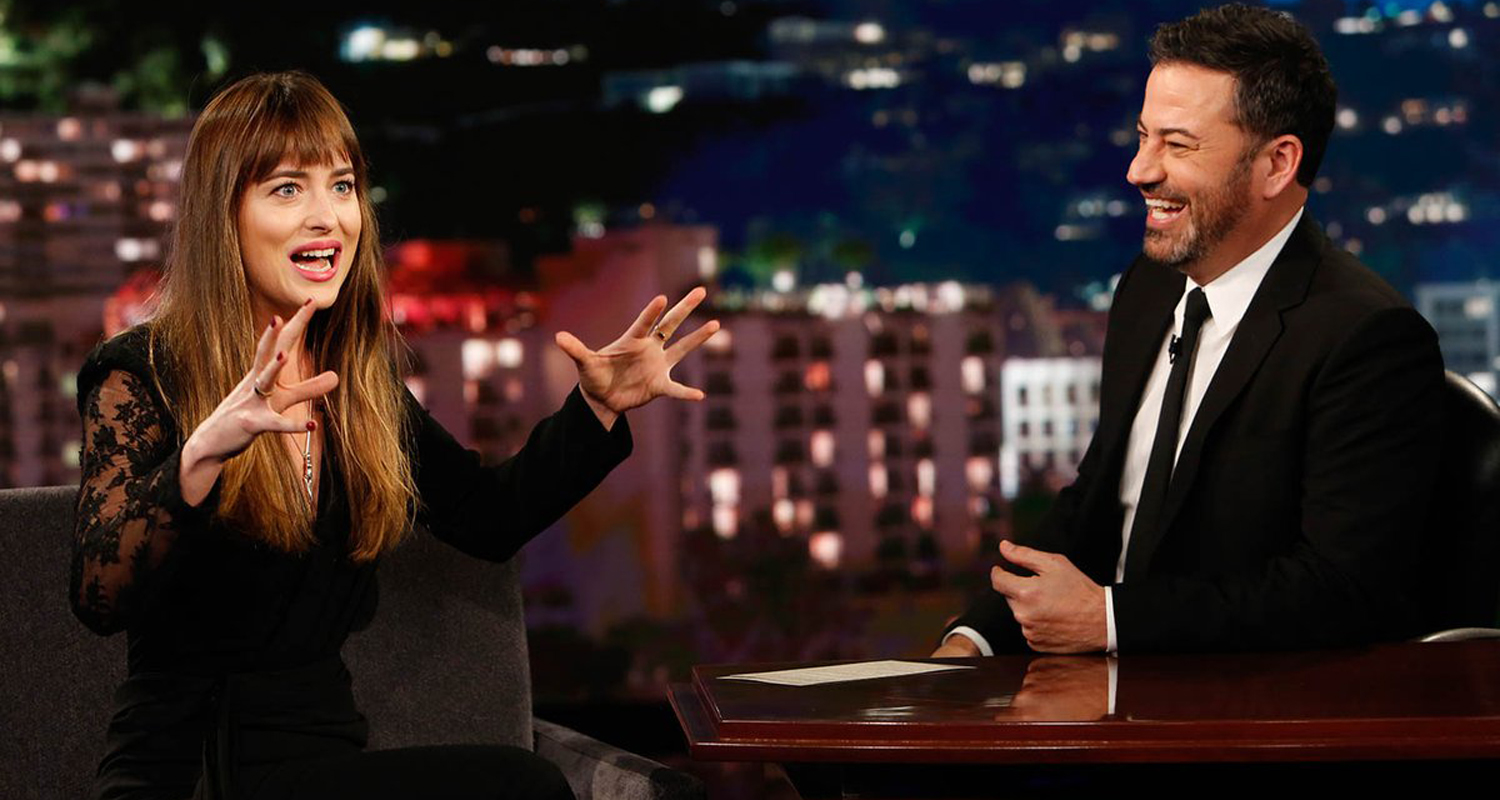 Dakota Johnson Tells \'Jimmy Kimmel\' That \'Suspiria\' Will Make You ...