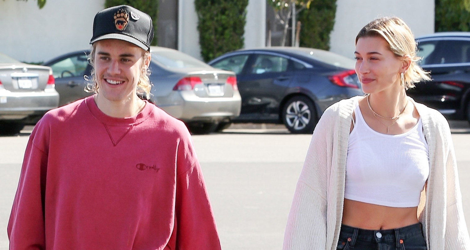 Justin Bieber & Hailey Baldwin Kick Off Their Day Together in LA