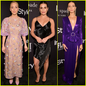 Kaley Cuoco, Lea Michele & Angela Sarafyan Get Glam for InStyle Awards!