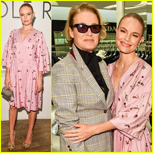 Kate Bosworth Supports Holt Renfrew's Exclusive Vogue Pop Up Launch!