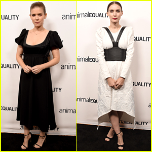 Kate & Rooney Mara Step Out for Animal Equality's Inspiring Global Action Gala