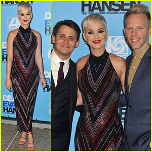 Katy Perry Attends Opening Night of 'Dear Evan Hansen' in L.A.