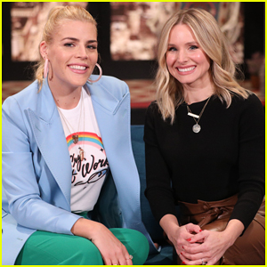 Kristen Bell Has Cry-Off with Busy Philipps on 'Busy Tonight' - Watch Here!