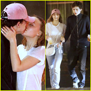 Timothee Chalamet & Lily-Rose Depp Kiss in New Photos, Confirm Their Romance!
