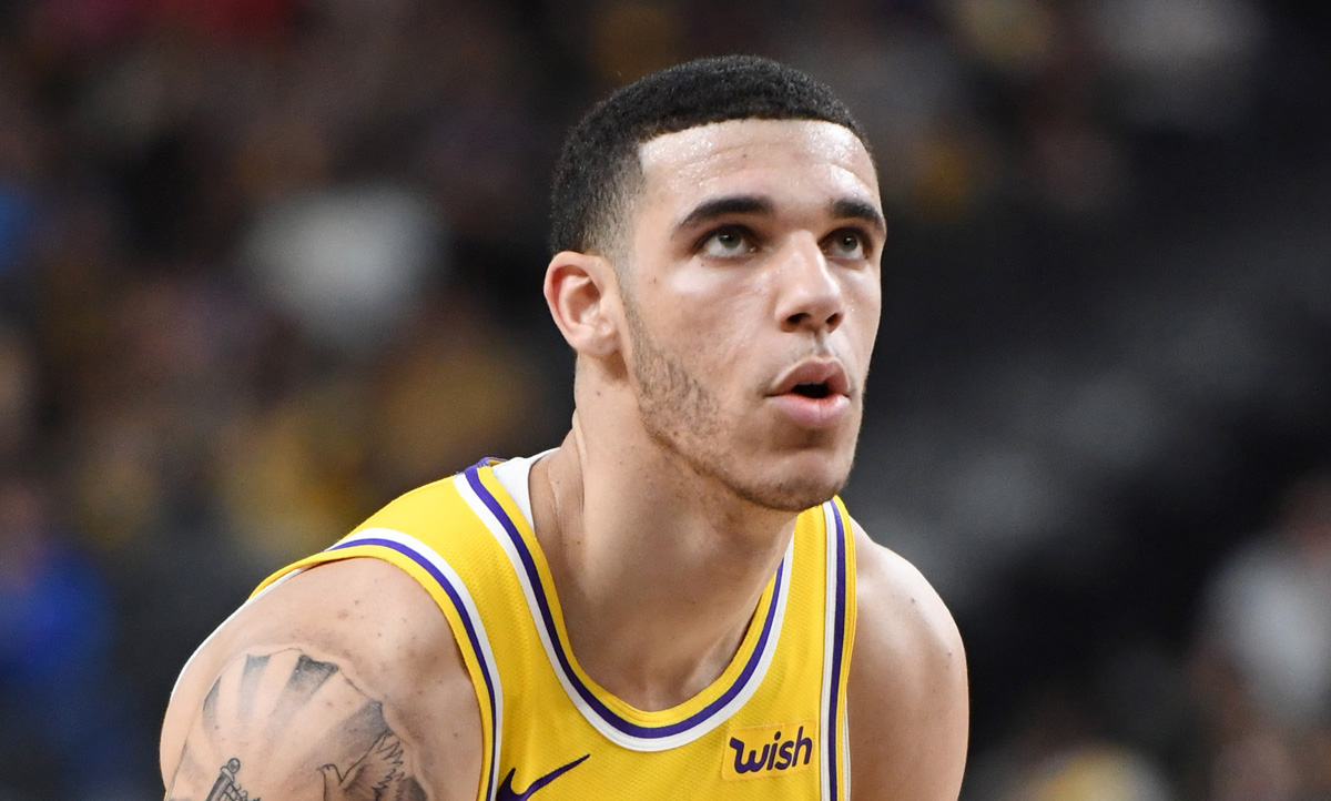 NBA's Lonzo Ball Had to Cover Up This Tattoo in Order to Play | Lonzo Ball, Newsies : Just Jared