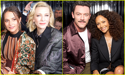 Louis Vuitton's Paris Fashion Show Brought Out So Many Stars!