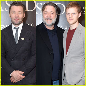 Lucas Hedges, Joel Edgerton, & Russell Crowe Bring 'Boy Erased' to the Big Apple