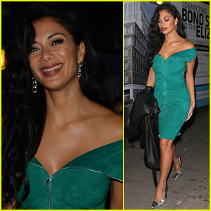 Nicole Scherzinger Goes Glam for Night Out in London!