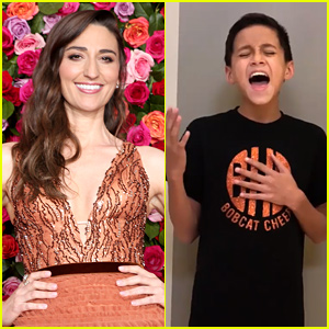 Sara Bareilles Reacts to Viral Video of Boy Singing 'Waitress' Song!