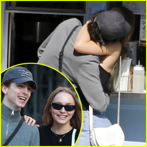 Timothee Chalamet & Lily-Rose Depp Pack on PDA in New Pics