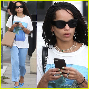 Zoe Kravitz Steps Out After Revealing Engagement to Karl Glusman!