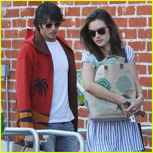 Alessandra Ambrosio & Boyfriend Nicolo Oddi Couple Up for Weekend Errands