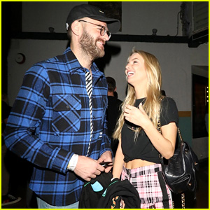 The Chainsmokers' Alex Pall & Girlfriend Katelyn Byrd Hang Out at Harry Hudson's Show in LA