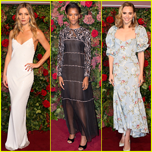 Annabelle Wallis, Letitia Wright, & More Stars Glam Up for Evening Standard Theatre Awards!