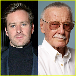 Armie Hammer Is Calling Out Celebrities Who Are Posting Photos of Themselves with Stan Lee