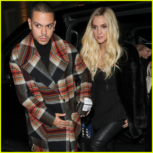 Ashlee Simpson & Evan Ross Have a Night Out in London!