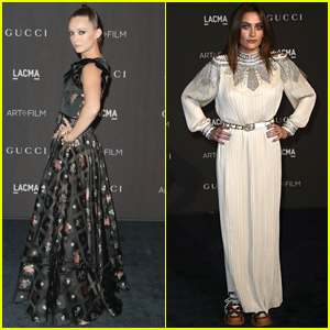 Billie Lourd & Paris Jackson Dazzle at LACMA Gala 2018!