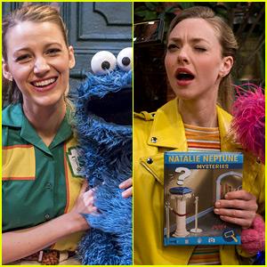 Blake Lively & Amanda Seyfried Guest Star on 'Sesame Street' Special!