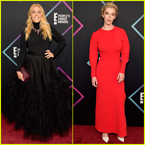 Busy Philipps Had to Rush Out After Presenting at People's Choice Awards 2018