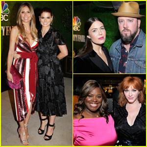 Debra Messing, Heidi Klum & Mandy Moore Live It Up at NBC & Vanity Fair's Primetime Party!
