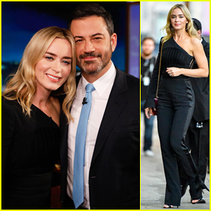 Emily Blunt Tells 'Kimmel' Recording New 'Marry Poppins' Songs Was 'Most Moving' Experience - Watch Here!