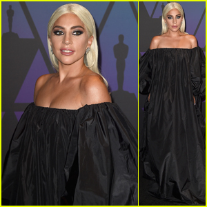 Lady Gaga Stuns on the Red Carpet at Governors Awards 2018!