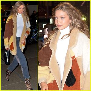 Gigi Hadid Struts Her Way to Victoria's Secret Fashion Show 2018 Fitting!