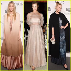 Gwyneth Paltrow, Karlie Kloss, & Jaime King Dazzle in Dior at Guggenheim Gala