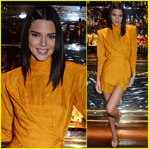 Kendall Jenner Celebrates Chaos SixtyNine Cover in London!