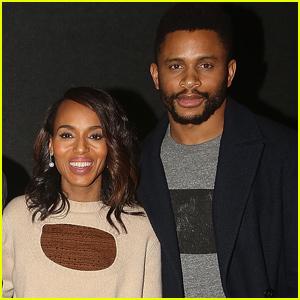 Kerry Washington & Husband Nnamdi Asomugha Host 'If Beale Street Could Talk' Screening
