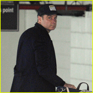 Liev Schreiber Heads Out of Town Before Thanksgiving