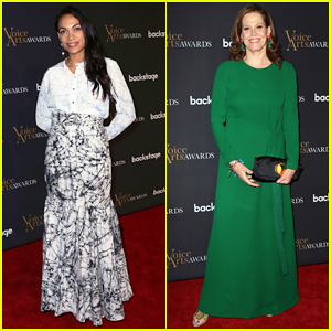 Rosario Dawson & Sigourney Weaver Get Honored at Voice Arts Awards 2018!