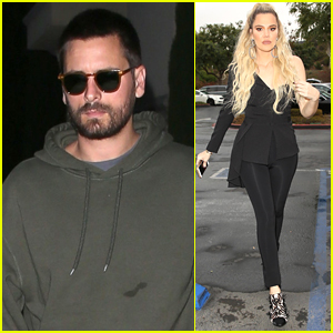b4c0c1ead342 Scott Disick Meets Up with Khloe Kardashian in L.A.