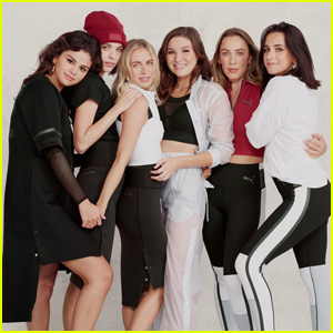 Selena Gomez Teams Up With Her Best Friends For  Puma  Strong Girl Campaign! 801c37a45