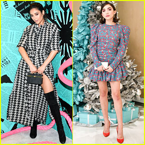 Shay Mitchell & Rowan Blanchard Have Girls' Night In With Tiffany & Co!