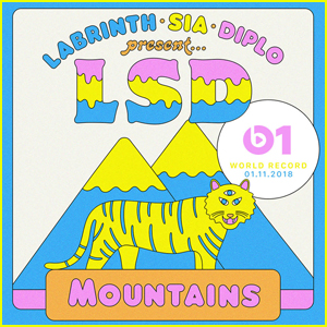 Sia, Diplo & Labrinth (LSD) Release 'Mountains' - Stream, Lyrics & Download!