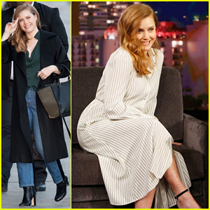 Amy Adams Explains To 'Kimmel' Why She Had To Reject a Hug from Brad Pitt!