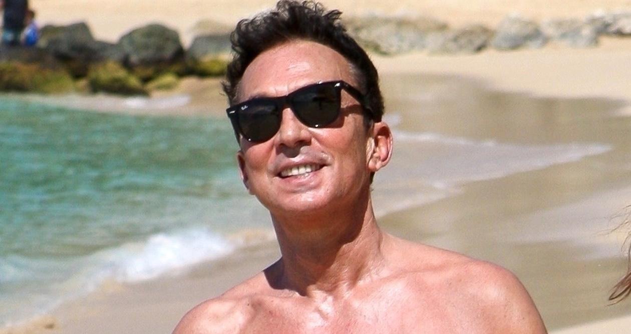 aa93ea803a2 Bruno Tonioli Rocks Speedo on Vacation in Barbados!   Bruno Tonioli,  Shirtless : Just Jared