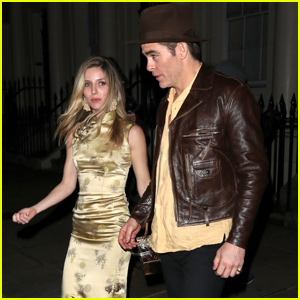 Chris Pine Annabelle Wallis Couple Up For Late Night London Party