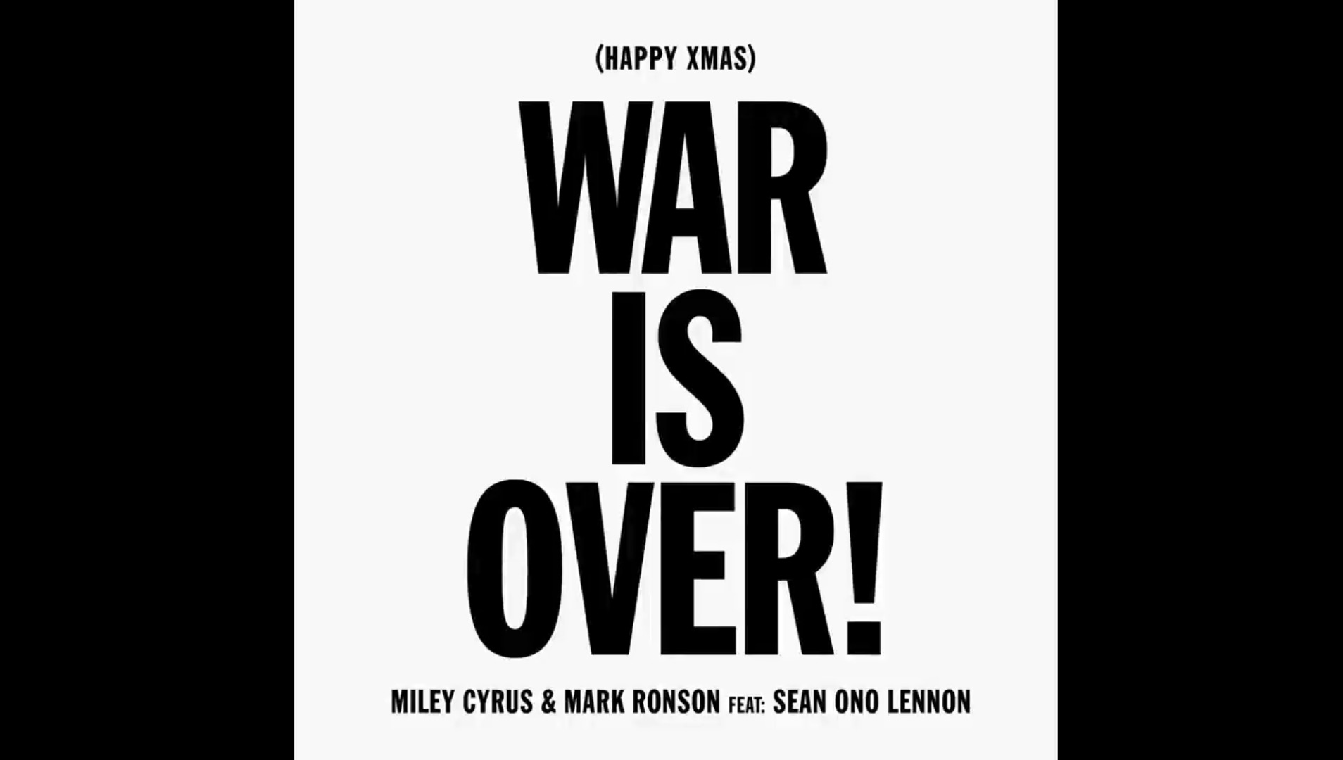 Miley Cyrus Covers John Lennon\'s \'War Is Over\' – Listen Now! | First ...