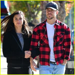 Derek Hough & Girlfriend Hayley Erbert Grab Breakfast in L.A.
