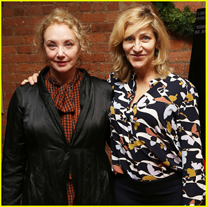 Edie Falco Supports 'Nancy' Cast at Special NYC Screening!