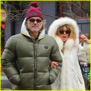 Goldie Hawn & Kurt Russell Arrive in Aspen for the Holidays!