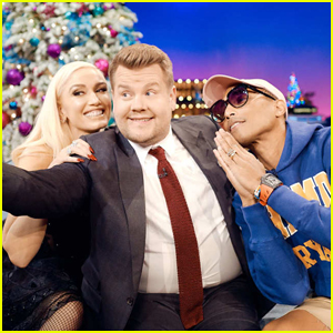 Gwen Stefani Gets Emotional Talking About Pharrell Williams on 'Late Late Show' - Watch Here!