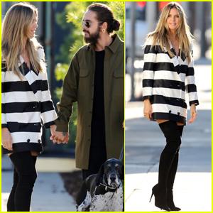 Heidi Klum Has A Perfect Weekend With Boyfriend Tom Kaulitz!