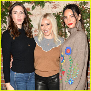 Hilary Duff & Olivia Munn Team Up for Love Leo Rescue Event