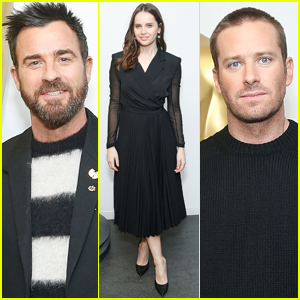 Justin Theroux, Felicity Jones, & Armie Hammer Attend 'On the Basis of Sex' Screening Hosted by the Academy!