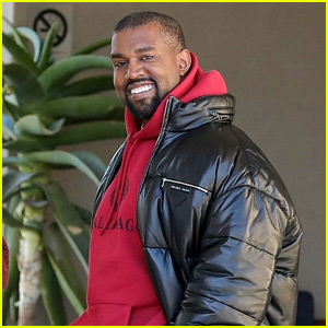 Kanye West Smiles Wide After His Tweets About Mental Health