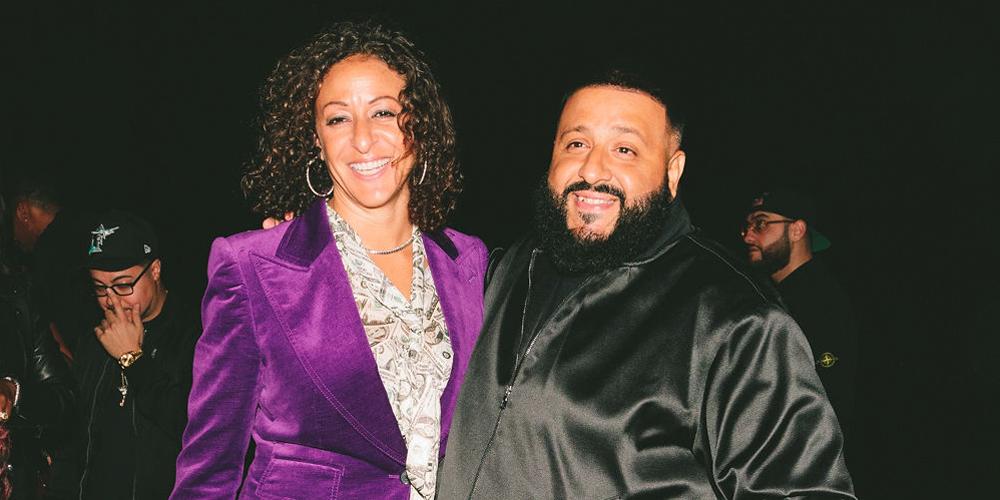 ddb32eaf089f4e DJ Khaled   Wife Nicole Tuck Celebrate Unveiling of Air Jordan 1 Miami  Edition at Art Basel Miami!